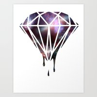 diamond Art Prints featuring Diamond by jeff'walker