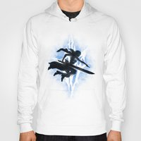 returns Hoodies featuring Lightning Returns by Six Eyed Monster