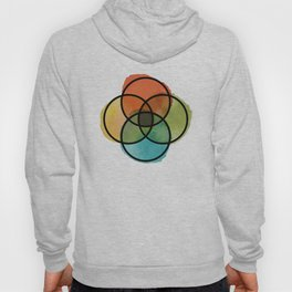 Ikigai Watercolor Hoody