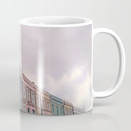 Colourful houses in Notting Hill, London Coffee Mug