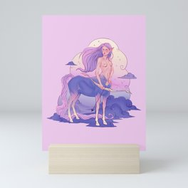 Sagittarius Zodiac Sign Mini Art Print