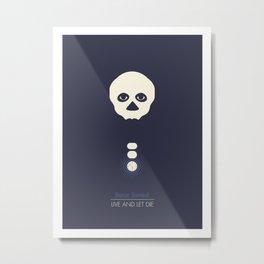 Baron Samedi Metal Print