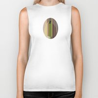 pear Biker Tanks featuring Pear by Robert Cooper