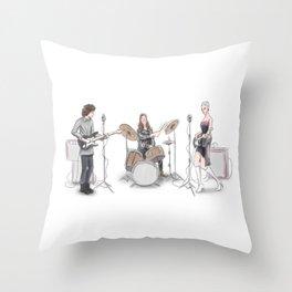 Music band Throw Pillow