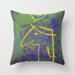 wth? man Throw Pillow