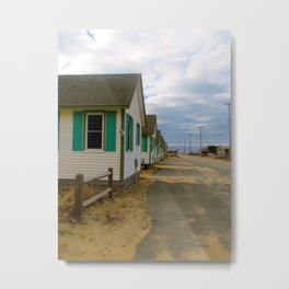 Cabins Provincetown Metal Print