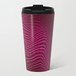 Made of curves | (Visual Illusion Digital Work) Travel Mug