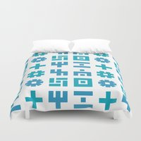gizmo Duvet Covers featuring gizmo by Smith Reid