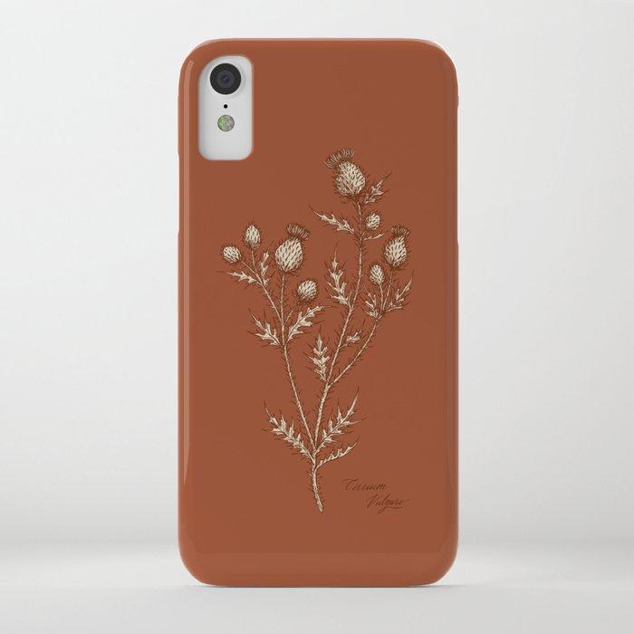Thistle in Autumn iPhone Case