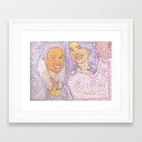 friendship Framed Art Prints featuring Friendship by ExperienceMJ