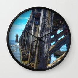 Capbreton  lighthouse Wall Clock