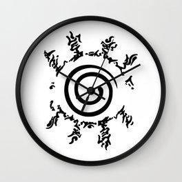 Naruto's Ninja Way Wall Clock