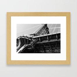 Manhattan Bridge 1 Framed Art Print