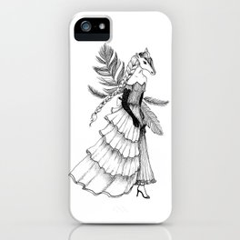 The Horse: Ares iPhone Case
