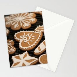 Holiday Iced Cookies Stationery Cards