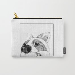 Lazy Raccoon Carry-All Pouch