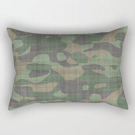 Camouflage Nature Rectangular Pillow