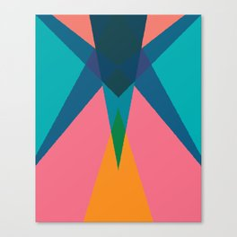 Cacho Shapes LXIII Canvas Print