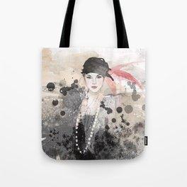 FASHION ILLUSTRATION 12 Tote Bag