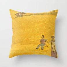The Bird of Truth Throw Pillow