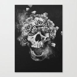 SKULL & ROSES I Canvas Print