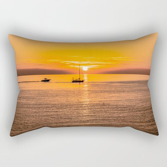 Finish of the day Rectangular Pillow