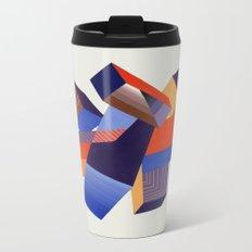 Geometric Painting by A. Mack Metal Travel Mug