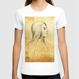 Girl with Nose Pin - 3 T-shirt