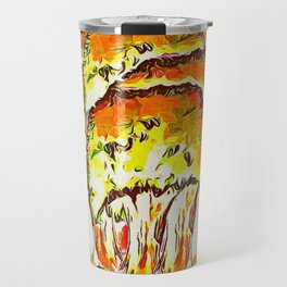 Tree Copse in Autumn Travel Mug