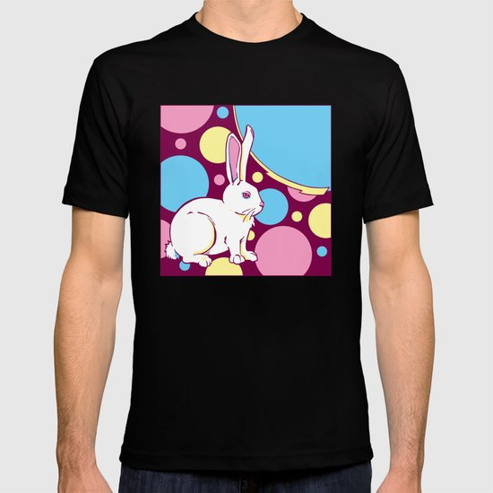 Psychedelic Rabbit T-shirt