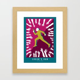 Logan's Run Design Framed Art Print
