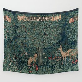 William Morris Greenery Tapestry Wall Tapestry