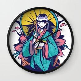 Waifu Princess Wall Clock