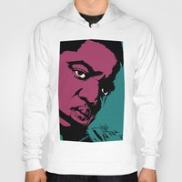 notorious Hoodies featuring Notorious by Vee Ladwa