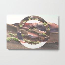 Circle Madness Metal Print