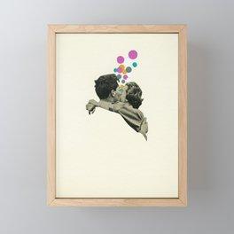 First Kiss Framed Mini Art Print