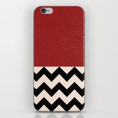 Black Lodge iPhone & iPod Skin