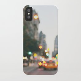 New York City Blur iPhone Case