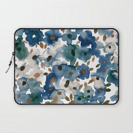 Georgia Floral Blue Laptop Sleeve