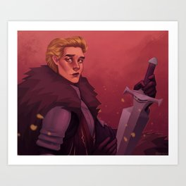 Commander Cullen Art Print
