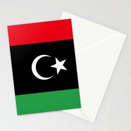 Libya Flag Stationery Cards