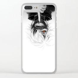 Tokyo Ghoul Kaneki Clear iPhone Case