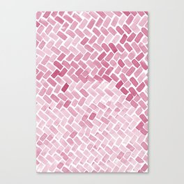 pink pavement Canvas Print