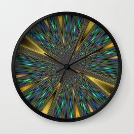 Fractal Abstract 44 Wall Clock