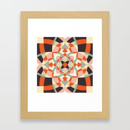 Southwest Quilt #1 Framed Art Print
