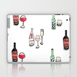 #DrinkWineDay Pattern Laptop & iPad Skin