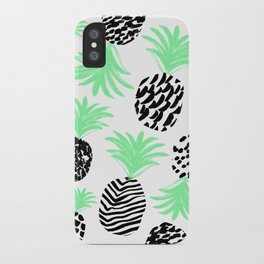 Classy Pineapples iPhone Case