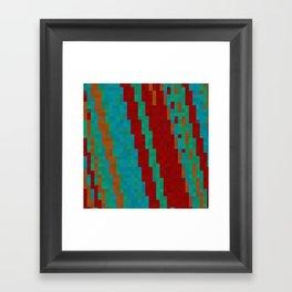 Southwest abstract Framed Art Print