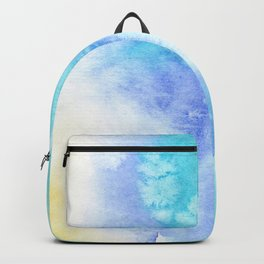 Sea vibes || watercolor Backpack
