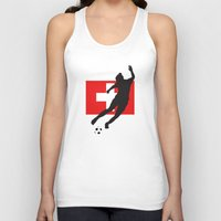 switzerland Tank Tops featuring Switzerland - WWC by Alrkeaton